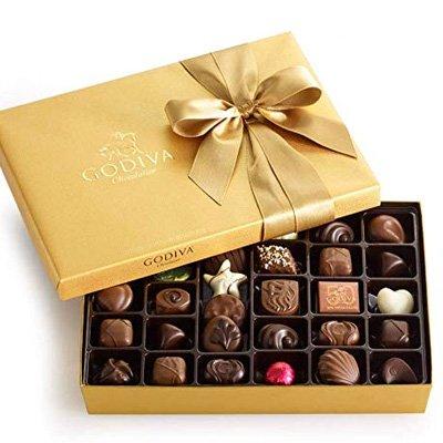 Gourmet Gift Box of Chocolates  Available on Amazon - Godiva Assorted Chocolates