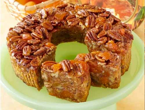 Apricot and Pecan Fruitcake