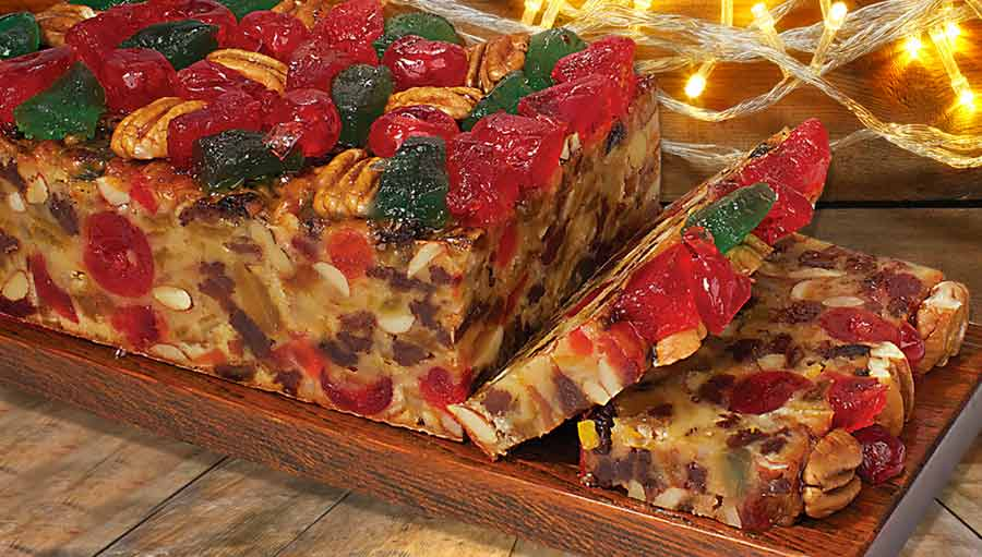 Claxton Traditional Fruitcake from Georgia