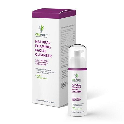 CBD Gift - CBD Foaming Facial Cleanser
