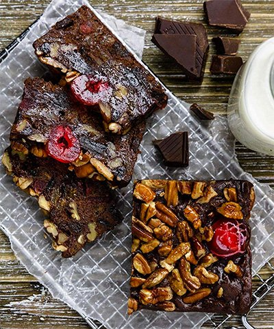 Chocolate Fruit Cake from Grandma's Fruit and Nut Cakes