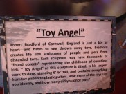 Toy Angel sign at Ripley's Believe it or not on Clifton Hill Niagara Falls Ontario Canada