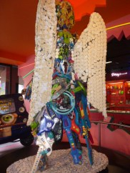 Toy Angel at Ripley's Believe it or not on Clifton Hill Niagara Falls Ontario Canada 1