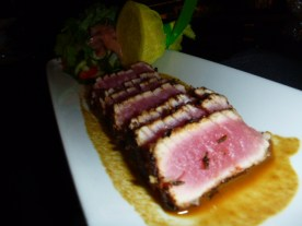 Seared Ahi Tuna Appetizer Ruth's Chris Steak House Niagara Falls Ontario Canada