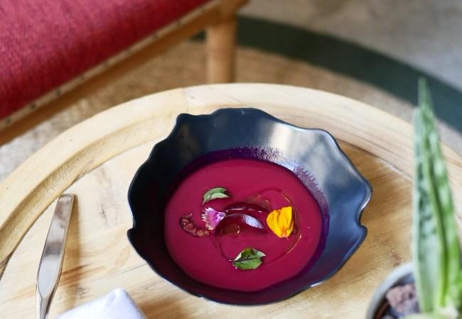 Restaurant Xavier Pellicer, apología vegetal con estrella