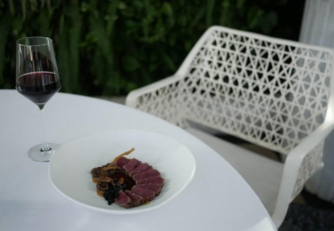 La Terraza del Claris, cocina de autor en un Hotel 5* GL