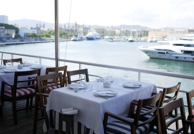 Restaurante Barceloneta, cocina marinera y arroces