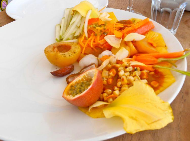 yellow salad