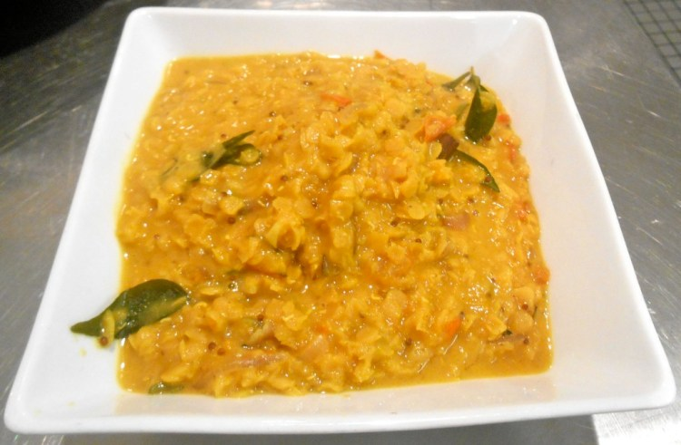 The most perfect, creamy dhal
