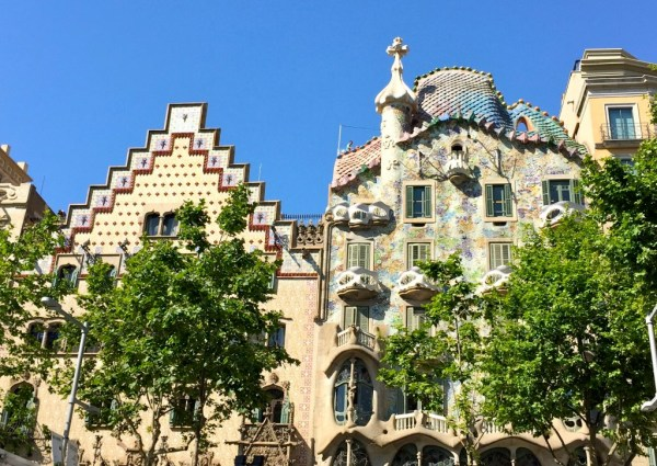 Casa Batllo stands proudly on Passeig Gracia
