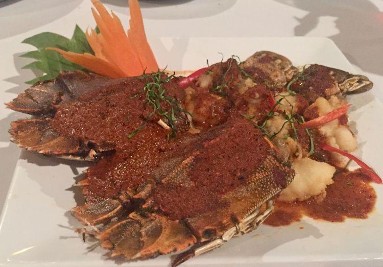 Chaweng Beach: rock lobster