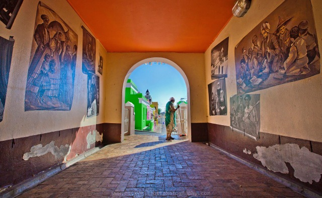 I love the beautifully quirky Bo-Kaap in Central Cape Town