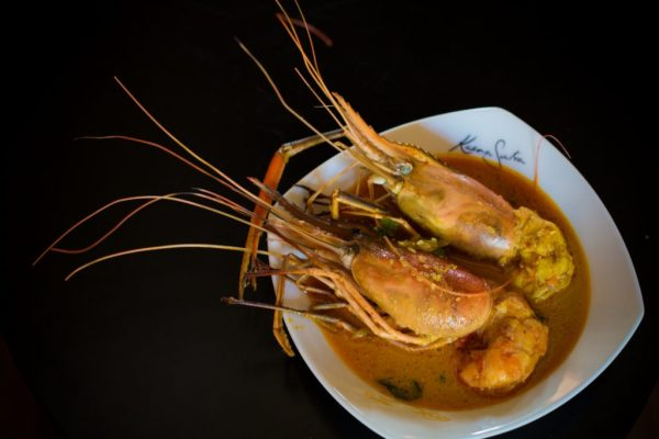 Freshwater Prawn Curry