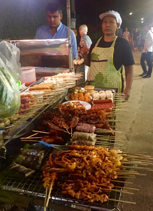 The street food is great in Khaolak
