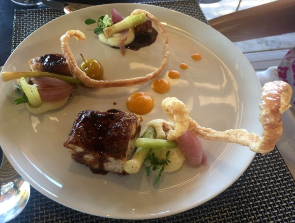 Pork belly rocks in the Cape Winelands
