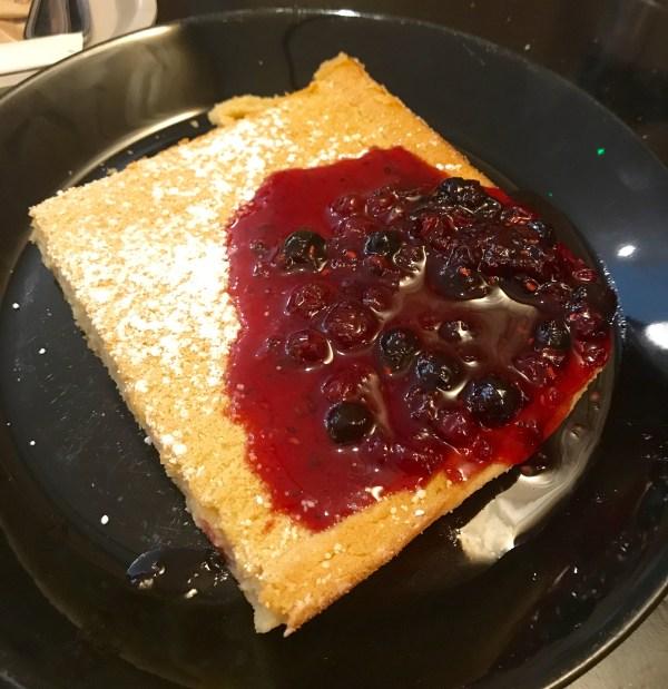 Nordic bakery: Oven pancake