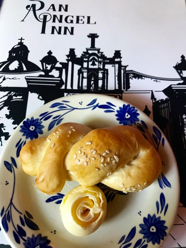 San Angel Inn: bread and butter