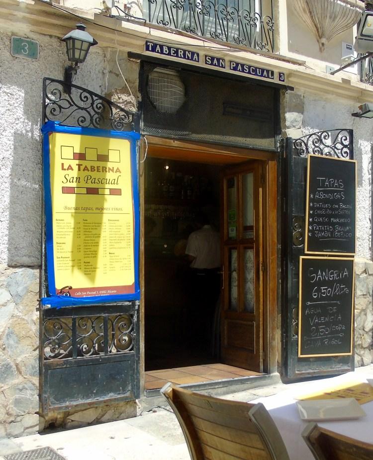 Alicante: La Taberna San Pascual