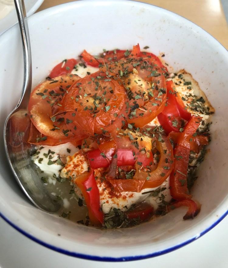 The Hungry Donkey: feta and tomato