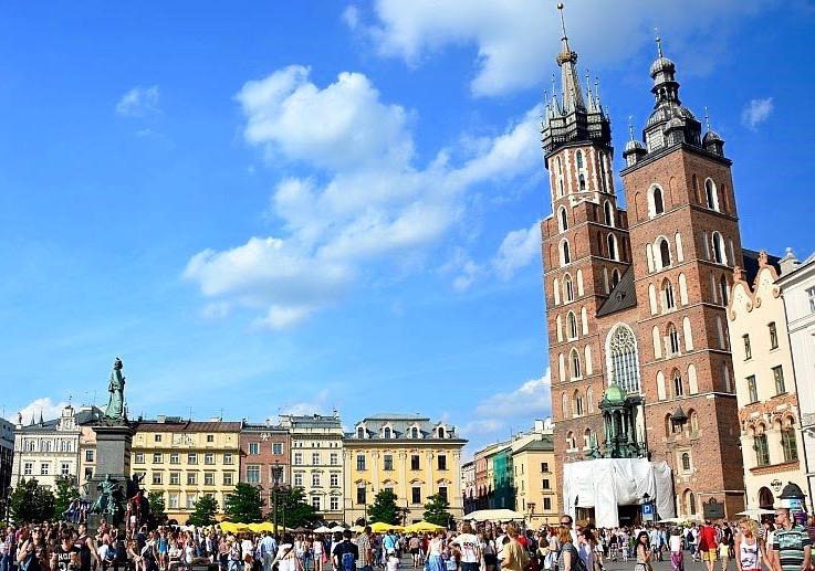 Krakow: Rynek Glowny