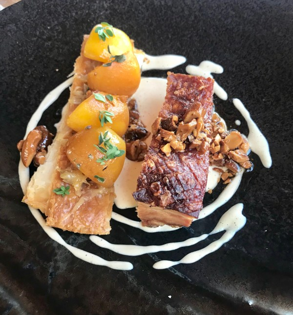 Beau Constantia: Pork belly