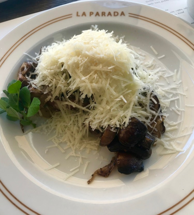 La Parada: mushrooms
