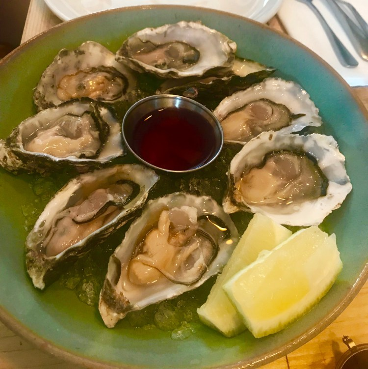 SeaBreeze: oysters