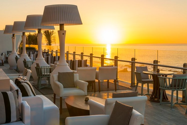 Grand Velas: sunrise