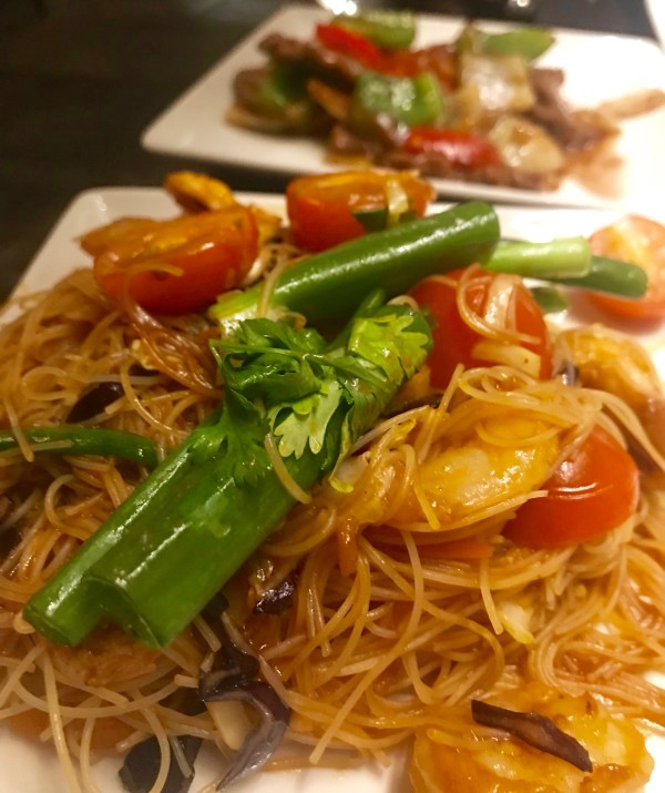 P.F.Changs: Singapore noodles