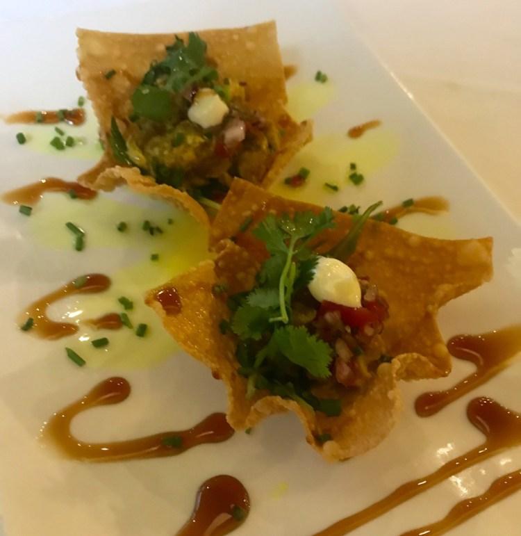 Sixteen82: fish tacos