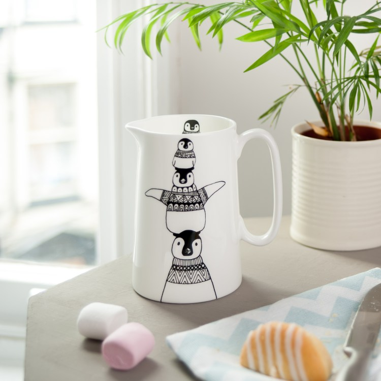Competition: penguin stack jug