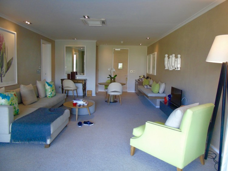 Mont Rochelle: lounge