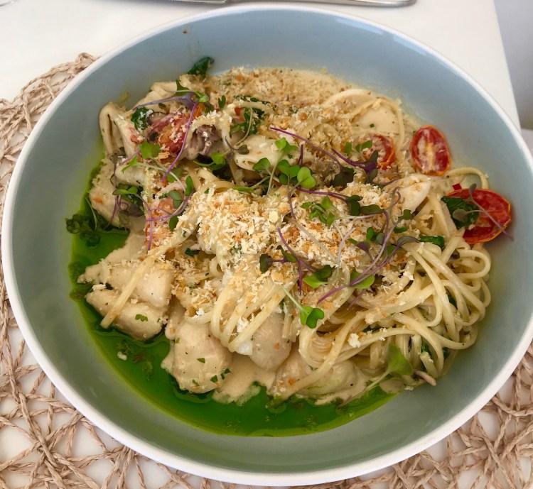 Leeto: Seafood linguine