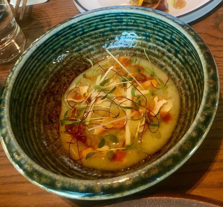 Beau Constantia: sashimi