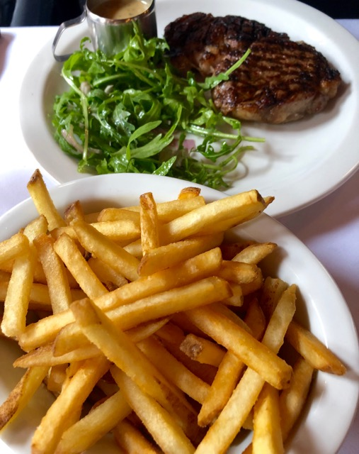 The French House: fries
