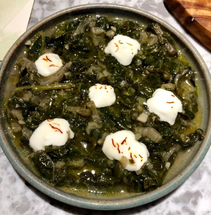 Nutshell: spinach and chard