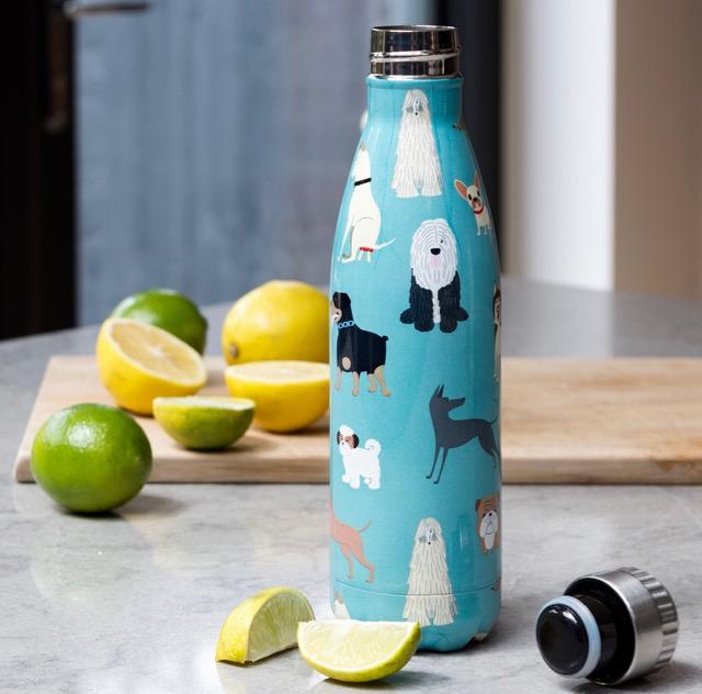 Rex London: stainless steel water bottle