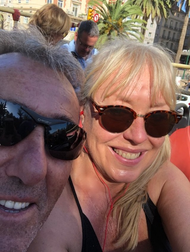 Malaga: tourist bus