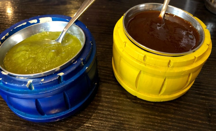 Soho Wala: sauce