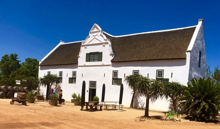 Groote Post: tasting room