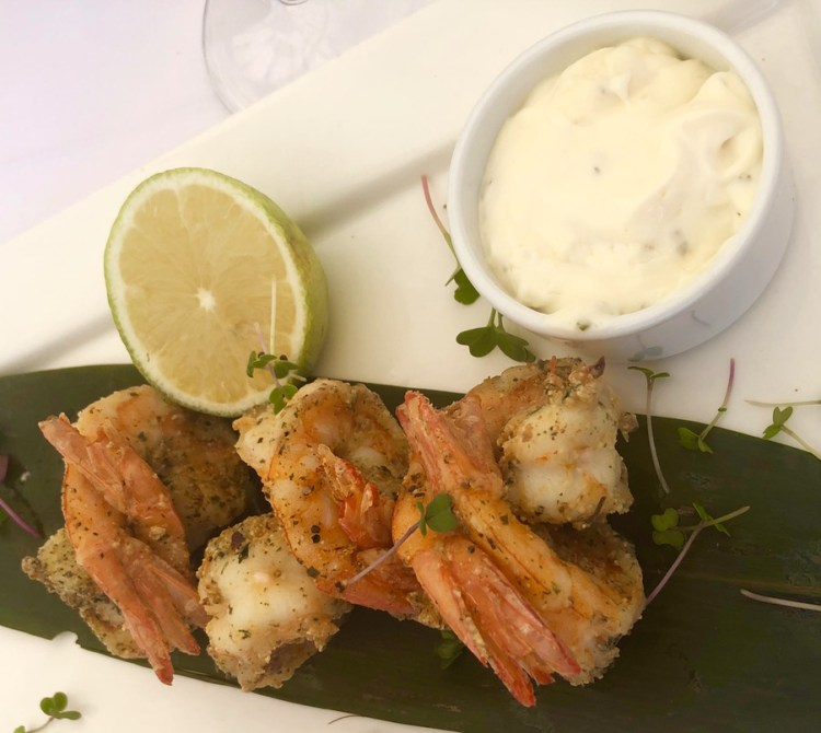 The Bungalow: prawns