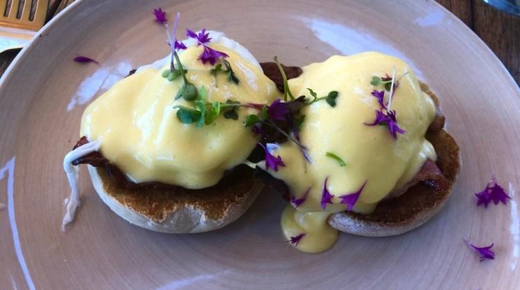 Lily's: eggs benedict