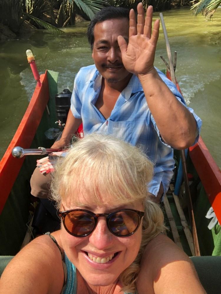 The Sarojin: pleat boat