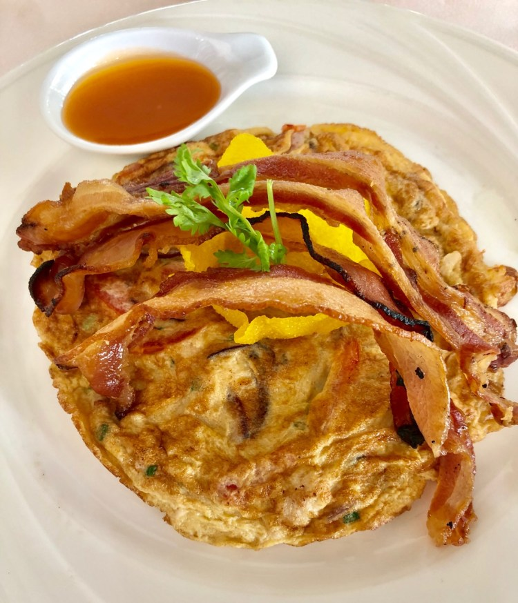 The Sarojin: omelette