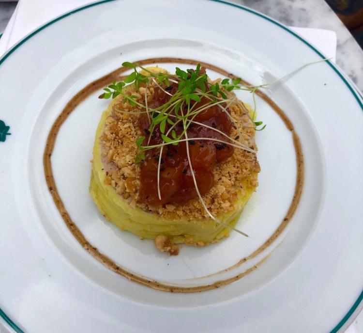 The Ivy Market Grill: duck liver parfait