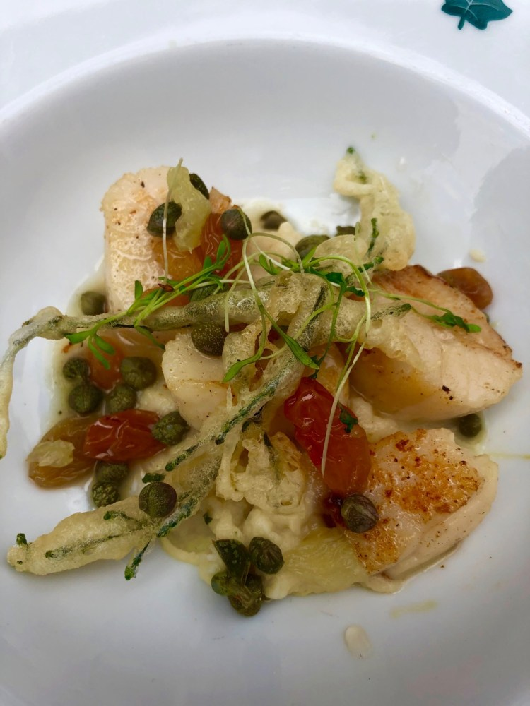 The Ivy Market Grill: scallops