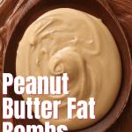 dark chocolate and peanut butter