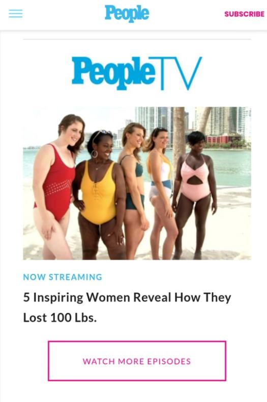 People TV Star! - Eating Fat is the New Skinny