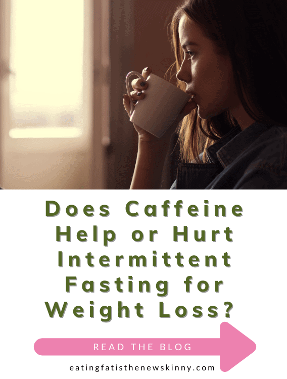 intermittent fasting with caffeine pin