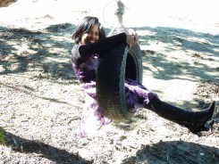 Couldn't resist the tyre swing...